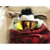 Gafas Pit Viper Monster Bull Doble Áncho Reflectantes Naranja Revo