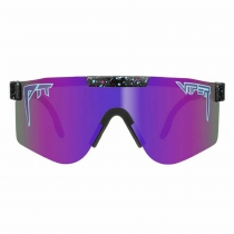 GAFAS THE NIGHT FALL DOUBLE WIDE Lente Polarizada Reflectante Morada Revo