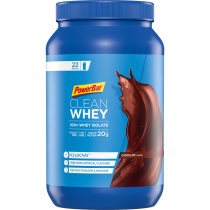 POWERBAR BOTE PROTEÍNA EN POLVO CLEAN WHEY 100% ISOLATE CHOCOLATE 570GR