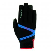Guante Rhone Bike Top Function Negro-Azul ROECKL