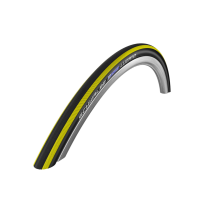 LUGANO 700*23C K-Guard Rayas Amarillas Plegable. ROAD RACE