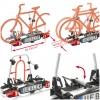 Portabicicletas Plegable Uebler F42 para 4 Bicicletas