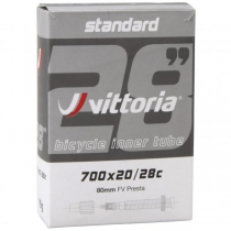 Cámaras STANDARD 700x20 28c - FV Presta 80mm ROAD VITTORIA