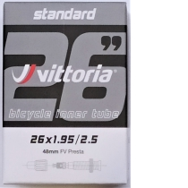 CÁMARA MTB VITTORIA STANDARD 26X1.95/2.5 FV PRESTA 48MM