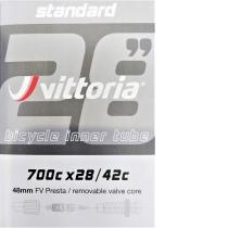 CÁMARA CARRETERA VITTORIA STANDARD 700X28/42C FV PRESTA RVC 48MM
