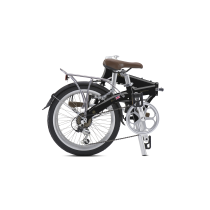 JUNCTION 1307 COUNTRY MR-RAVEN BLACK (con guardabarros y portabultos)