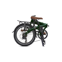 JUNCTION 1507 COUNTRY BRITISH RACING GREEN  (guardabarros y portabultos)