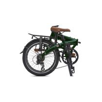 BICICLETA PLEGABLE JUNCTION 1507 COUNTRY BRITISH RACING GREEN  (guardabarros y portabultos) BICKERTON