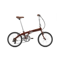 BICICLETA PLEGABLE JUNCTION 1707 COUNTRY Rojo.7 veloc. OO (sin accesorios) BICKERTON
