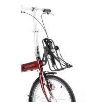 BICKERTON Portabultos Delantero para bicicleta OXFORD