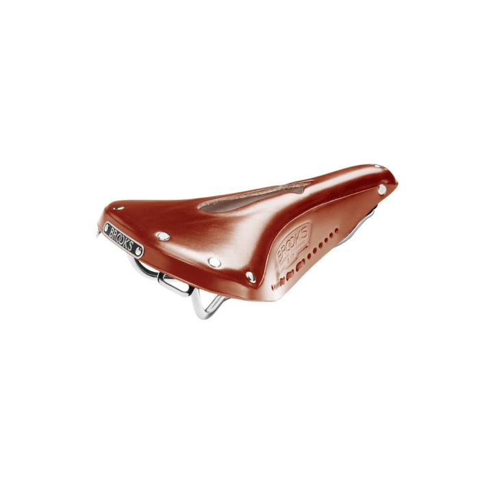 Sillin Brooks B17 Narrow Imperial para Bicicleta Color Miel