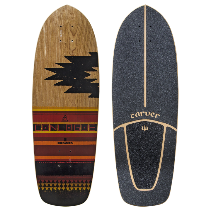 "29,5"" Deck Courtney Conlogue with Grip Tape"