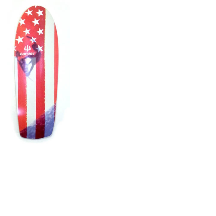30,5 Deck Amber Flag with grip tape