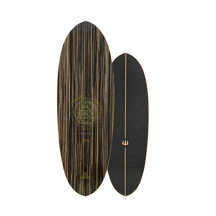 "Carver 30"" Deck Haedron No.3 with grip tape"