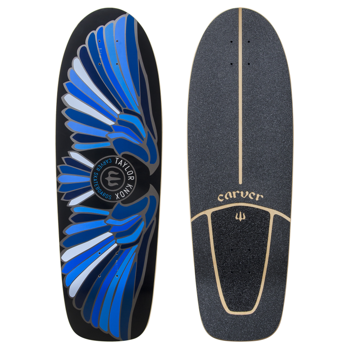 "31,25"" Deck Fort Knox Blue With Grip Tape"