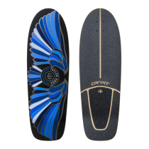 """31,25"""" Deck Fort Knox Blue With Grip Tape"""