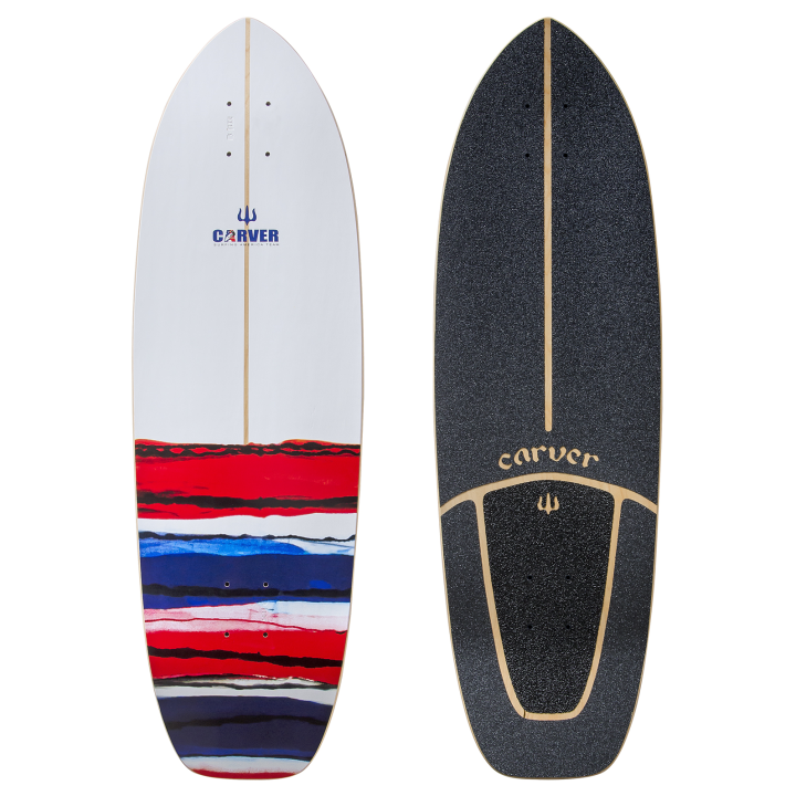 32,5 Deck USA Resin with Grip Tape