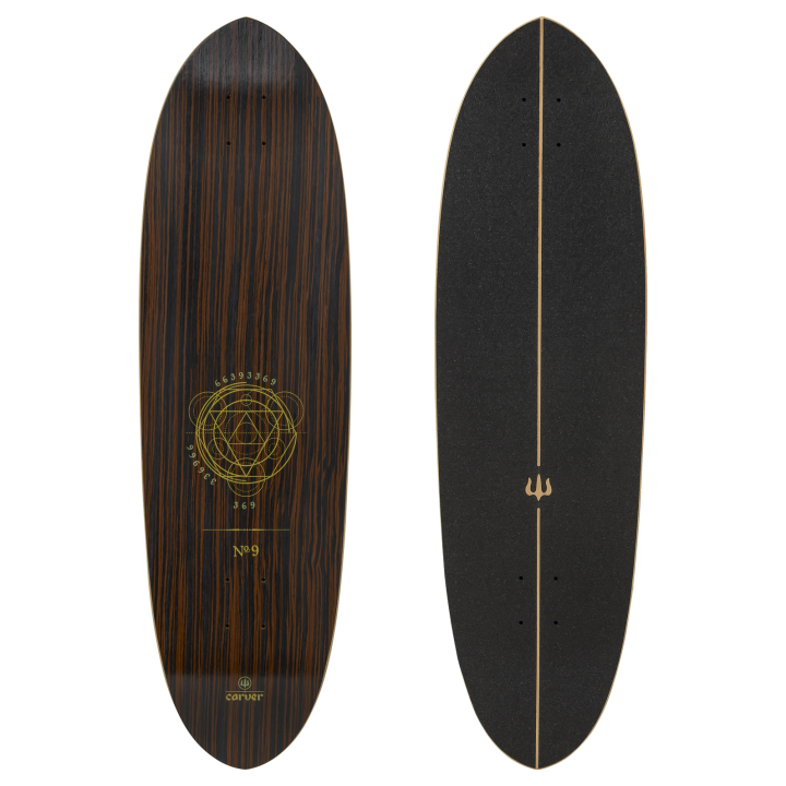 "Carver 35"" Deck Haedron No.9 with grip tape"