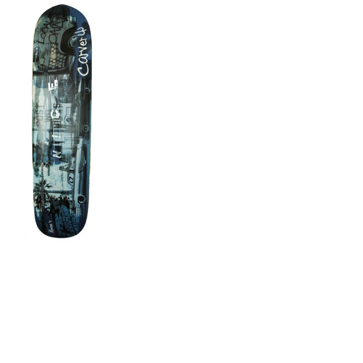 "36"" Deck Funline Venice Blue with grip tape"