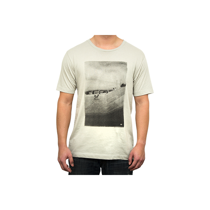 Camiseta Carver Manga Corta The Ditch Color Silver