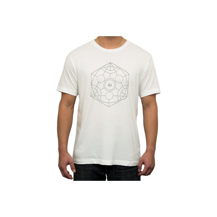Camiseta Carver Manga Corta Proteus Color Blanco