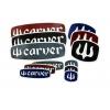 Adhesivos Carver Pack 25 unidades