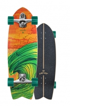 "SurfSkate Carver 29"" Swallow Con Ejes C7 Raw"