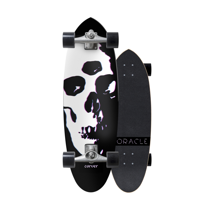 "SurfSkate Carver 31"" Oracle con Ejes CX Raw"