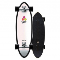 "SurfSkate Carver 31.75"" CI Black Beauty Con Ejes CX Raw"