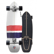 "SurfSkate Carver 32.25"" USA Thruster Con Ejes CX Raw"