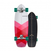 "SurfSkate Carver 30.25"" Firefly Con Ejes CX Color Raw"