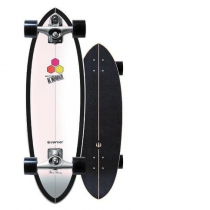 "SurfSkate Carver 31.75"" CI Black Beauty Con Ejes C7 Raw"