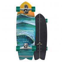 "SurfSkate Carver 29.5"" Swallow Con Ejes C7 Raw"