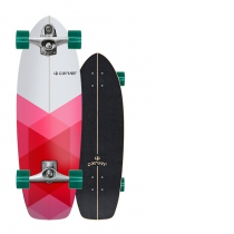 "SurfSkate Carver 30.25"" Firefly Con Ejes C7 Raw"