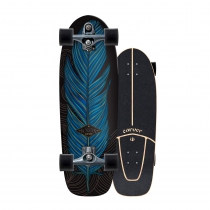 "SurfSkate Carver 31.25"" Knox Quill con Ejes C7 Color Graphite"