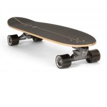 """SurfSkate Carver 35"""" Haedron Nº 9 Con Ejes C7 Color Graphite"""