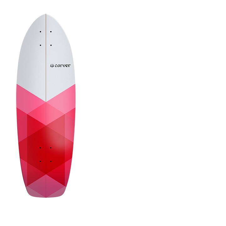 "30.25"" Deck  Firefly With Grip Tape"