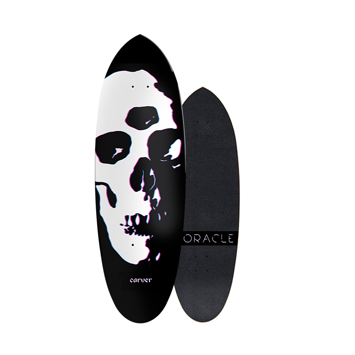 "31"" Deck Oracle With Grip Tape"