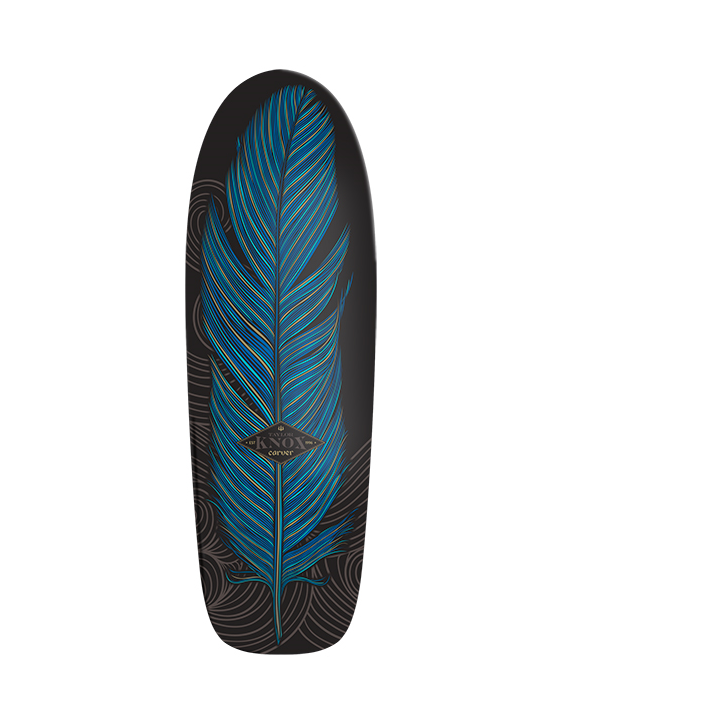 "31.25"" Deck Knox Quill With Grip Tape"