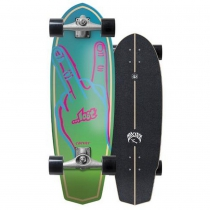 "SurfSkate Lost Carver 31"" Plank Con Ejes CX Raw"