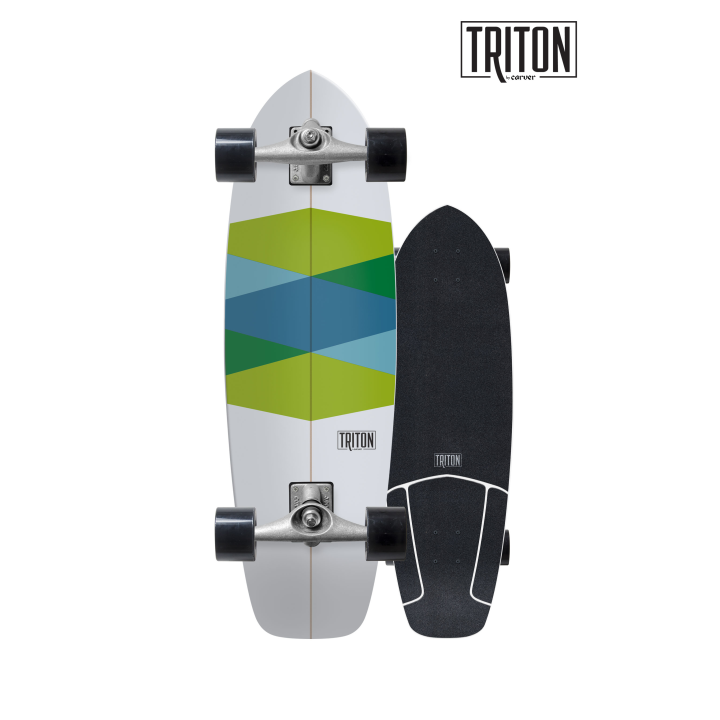 "TRITON 32.5x9.875"" Green Glass CX"