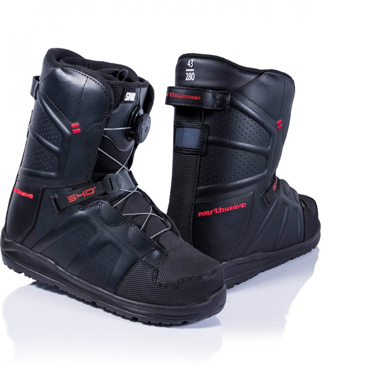 HOVER SPIN RENTAL Botas Negro