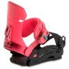 DL Fijaciones Woman Rosa-Negro Snow