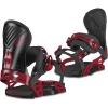 RADAR Fijaciones Snow Negro-Rojo