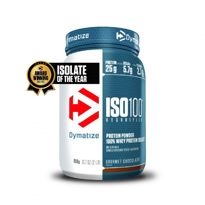 ISO100 GOURMET CHOCOLATE 1 bote*900gr