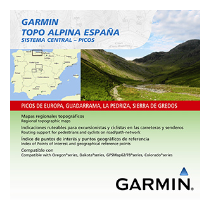 TOPO ALPINA CENTRAL-PICOS GARMIN
