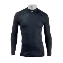 Camiseta Int. TECH M/l Prot. Frontal Negro