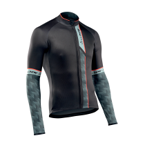 Maillot m/l EXTREME 3 Negro-Verde-Forest