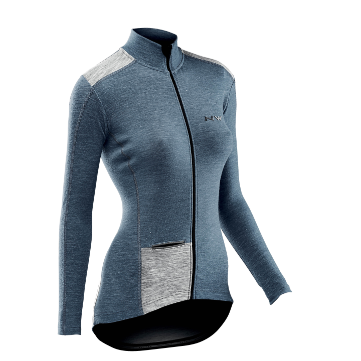 Maillot NORTHWAVE Wool  ALLURE Lady Avio