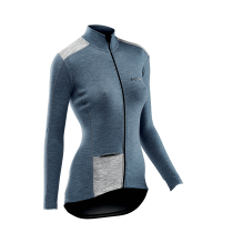 Maillot Wool m/l ALLURE Lady Avio